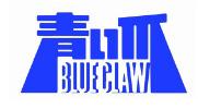 青い爪ロゴ